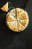 Schnelle Chicken Pot Pie