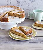 Möhrenkuchen mit Mandeln