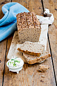 Gluten-free buttermilk bread with honey and chia seeds