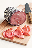 Bresaola (beef ham, Italy)
