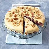 Dulche-de-leche poke cake