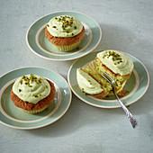 Pistazien-Poke-Muffins