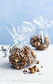 Karamell-Popcorn zum Verschenken (weihnachtlich)