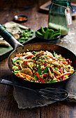 Roasted vegetable rice (vegetarian)