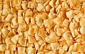 Gesalzene Potato Squares (Knabberei, bildfüllend)