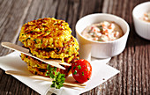 Millet and vegetable burgers
