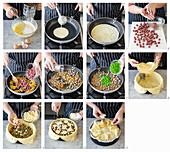 How to make a pancake cake, (Timballo alla teramana, Italy)