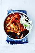 Lemon and Fennel Seafood Stew