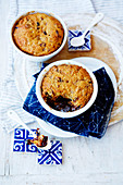 Sticky Date and Ginger Self-Saucing Puddings