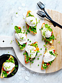 Crushed Broad Bean Bruschetta