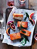 Pork Belly with Crisp Crackling and Herb Salt
