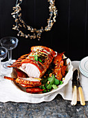 Roast Pork with Balsamic Pears