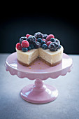 Cheesecake with Summer Berries