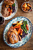 Roast with Chicken and Beef