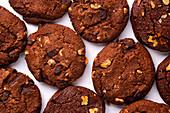 Schokoladenkekse (Draufsicht)