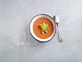 Quick gazpacho (low carb)