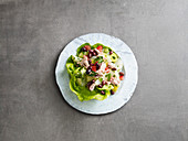Salad niçoise with tuna fish (low carb)
