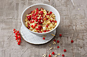 Sweet couscous salad with redcurrants
