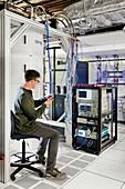 IBM Q quantum computer research