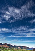 Cirrus spissatus clouds over the Lake District