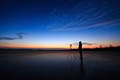 Twilight in Inner Mongolia