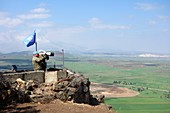 UN peacekeepers on the Golan Heights