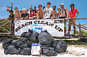 Beach clean-up campaign