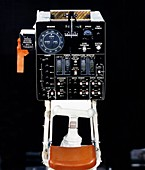 Lunar Roving Vehicle controls, 1971