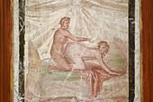 Erotic artwork from Pompeii