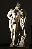 Roman statue of Hercules, 2nd-3rd century AD