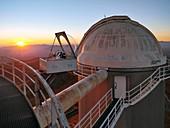 HELIOS solar telescope, La Silla Observatory, Chile