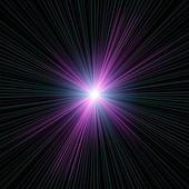 Big Bang explosion, illustration
