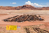 Removal of Uranium Mine Tailings, Utah, USA