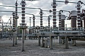 Bus system at electricity substation