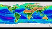 Global biosphere, October 1997