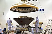InSight Mars lander heatshield assembly, March 2018