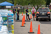 City water supply contamination response, USA