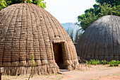 Beehive Huts at the Mlilwane Wildlife Sanctuary, Swaziland