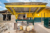 Outdoor gas station, Ganta, Liberia