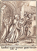 The Abbess and the Dance of Death, 17th century