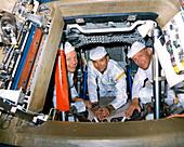 Apollo 11 crew training, June 1969