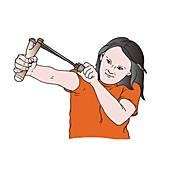 Slingshot, illustration
