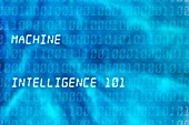Machine intelligence, conceptual illustration