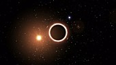 Supermassive black hole and test of general relativity