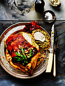 Prosciutto-Wrapped Nutty Roast Chicken