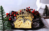 Quark and poppy seed cake for Christmas