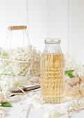 Bottle of Elderflower Liqueur