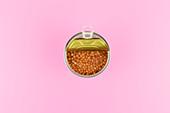 A tin of lentils