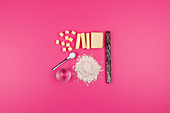 Ingredients for shortcrust pastry