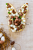 Bunny Biscuit Cake